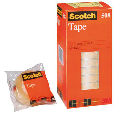 Cinta adhesiva transparente Scotch 508 508/1933 A