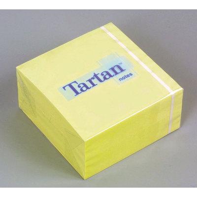 Cubo de notas adhesivas Tartan 76x76mm