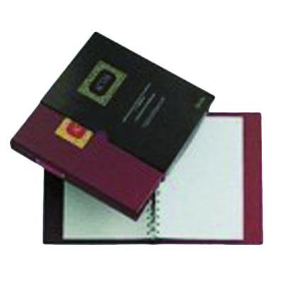 Libro de actas A4 con anillas 100 hojas móviles