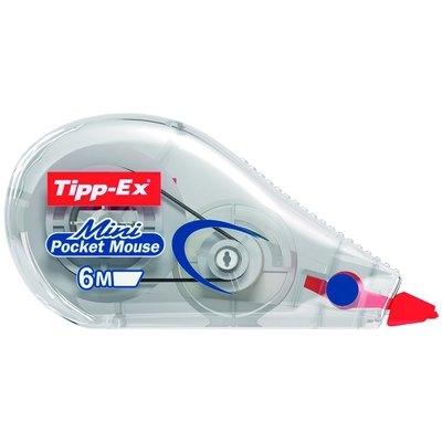 Corrector en cinta 5mmx6m Tipp-Ex Mini Pocket Mouse