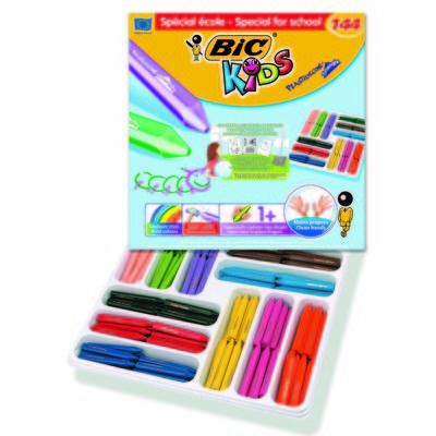 Lápices de cera de colores triangulares Bic Kids