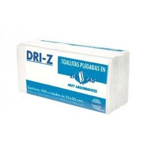 Toallas secamanos zigzag DRI-Z Tisú 2 capas 0296V