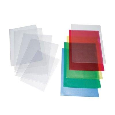 Dossier con uñero folio PVC Grafoplás cristal