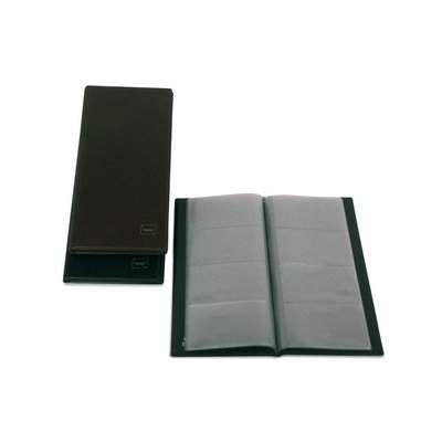 Tarjetero americano 2/3 folio PVC Grafoplás