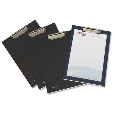 Placa portanotas pinza superior PVC Pardo 82001
