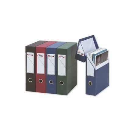 Caja de archivo definitivo cartón Pardo 245601