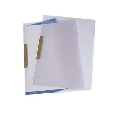 Dossier con clip metálico Folio Pardo