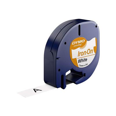 Cinta rotuladora electrónica Dymo Letratag 12mm S0718850
