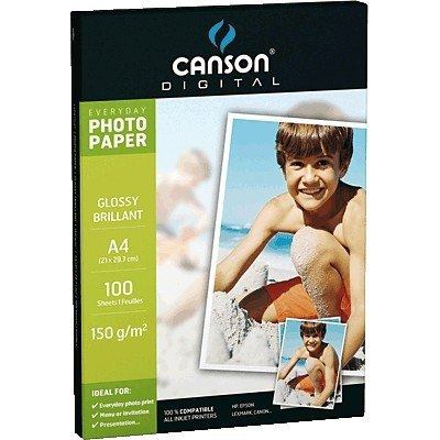 Papel fotográfico brillante Canson Everyday A4