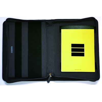 Portadocumentos con cremallera negro 5095060