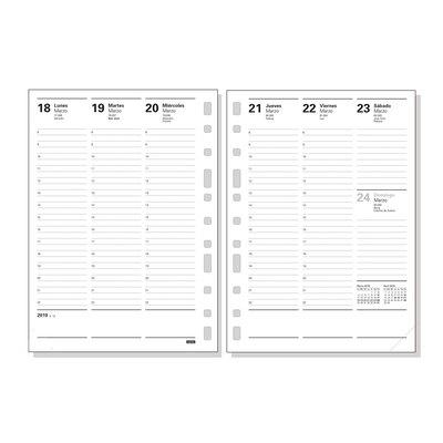 Recambio agenda Finocam Multifin 3002 día página