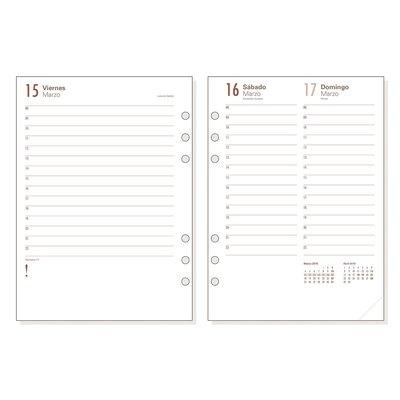 Recambio agenda Finocam Open 500 día página 11,7x18,1cm  R598