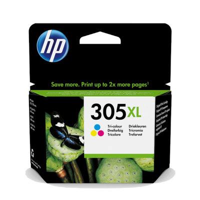 Inkjet original HP 305XL tricolor 200 páginas aprox. 3YM63AE