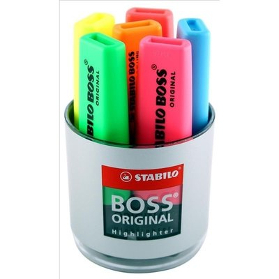 Rotulador fluorescente Stabilo Boss