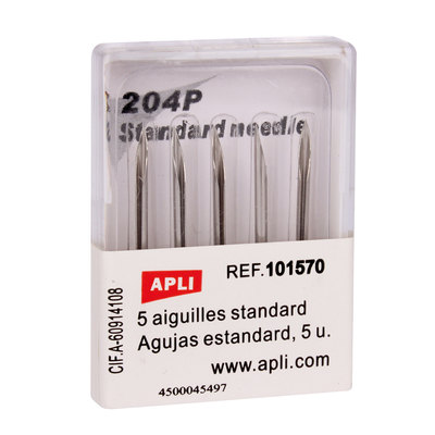 Agujas estándar para navetes Apli 101570
