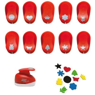 Perforadora de figuras especiales para goma EVA Fixo Kids 00038451