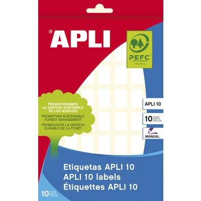 Etiquetas adhesivas manual Apli 01654
