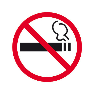 Pictograma adhesivo Prohibido Fumar Apli 845