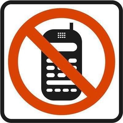 Pictograma adhesivo Prohibido teléfono móvil Apli 00848