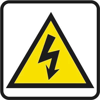 Pictograma adhesivo Riesgo eléctrico Apli 10951