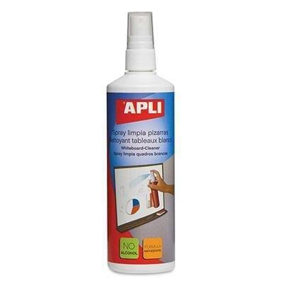 Spray limpiador para pizarras blancas Apli 11305