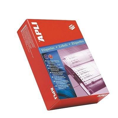 Etiquetas adhesivas Apli impresoras matriciales 1 salida 00007