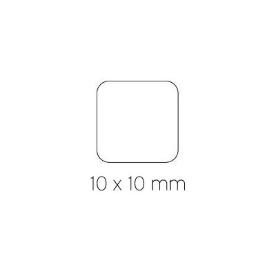 Gomets autoadhesivos Apli cuadrados 10 mm 04871