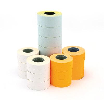Etiquetas rectangulares para etiquetadora 1 línea Apli blanco adhesivo removible