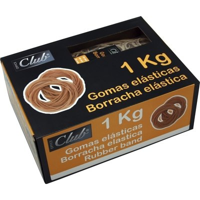 Gomilla elástica de caucho 1Kg Office Club 320600