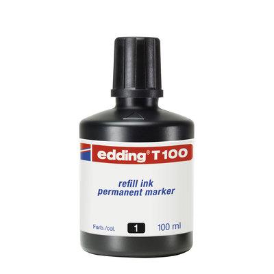 Tinta para rotulador Edding 30ml negro