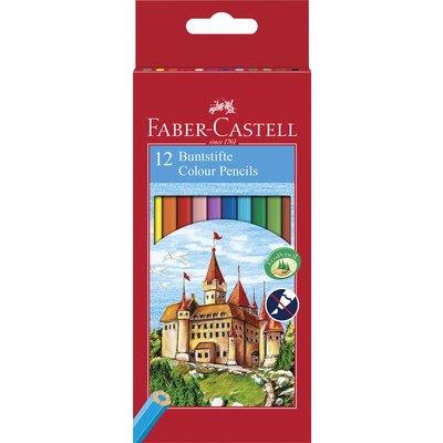 Lápices de colores hexagonales Faber-Castell