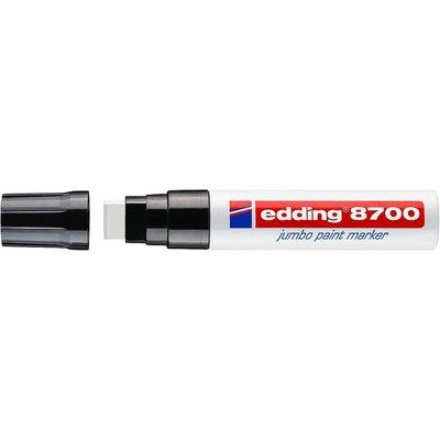Rotulador permanente Edding 8700 Jumbo blanco