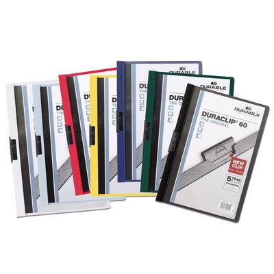 Dossier con clip metálico A4 60 hojas Durable Duraclip 220907