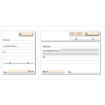 Talonario de recibos 1/3 del folio con matriz Loan