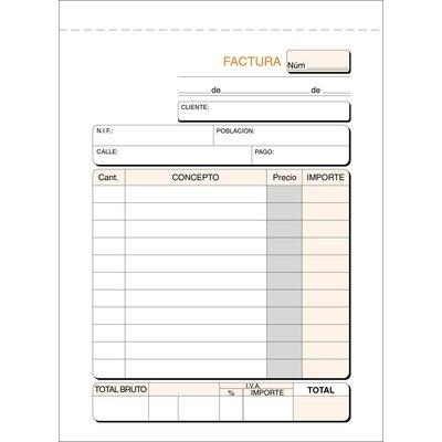 Talonario de facturas octavo Loan 46/1