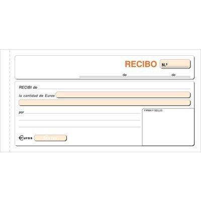 Talonario de recibos 1/3 del folio sin matriz Loan
