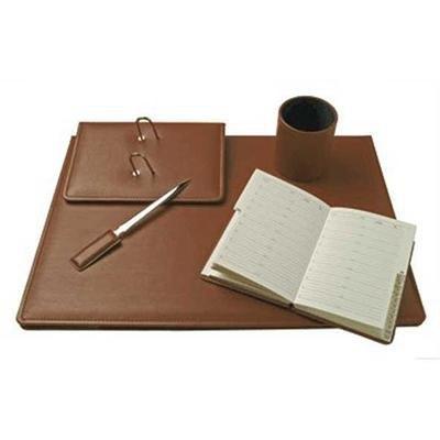Juego escribanía símil-piel napa 5 piezas Zenit 157-54