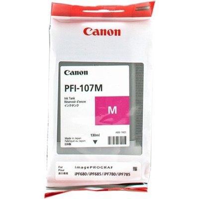 Cartucho inkjet Canon PFI-107m Magenta  130 ml 6707B001
