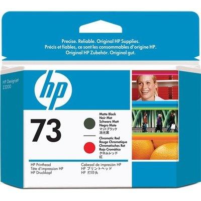 Cabezal de impresión HP 73 negro (mate) / rojo (chrom.) CD949A