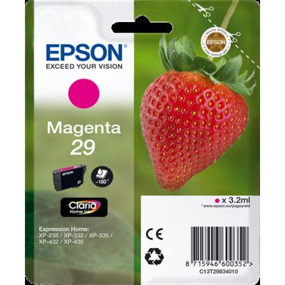 Cartucho Inkjet  Epson T2983 Magenta 180 páginas  C13T298340