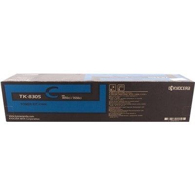 Tóner Kyocera TK-8305c cian  15.000 páginas