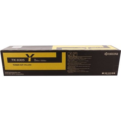 Tóner Kyocera TK-8305y amarillo  15.000 páginas
