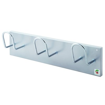 Perchero de pared Cilindro H-14-NEGRO