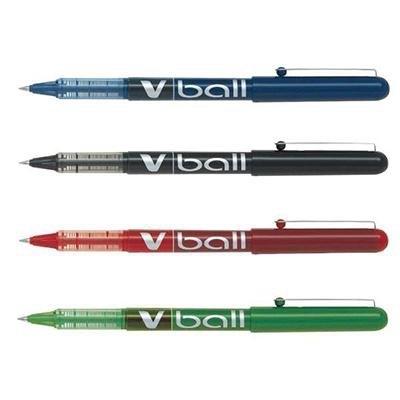 Rotulador roller punta bola tinta líquida Pilot V-Ball punta de 0,7mm azul
