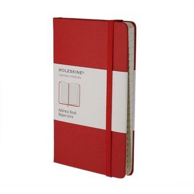 Cuaderno de direcciones Moleskine Classic rojo MM711R