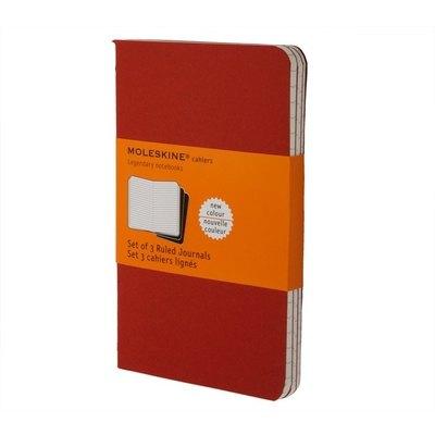 Cuadernos Moleskine Cahier large pack de 3 CH118EN