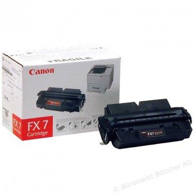 Tóner Canon FX7 Negro 4.500 páginas 7621A002