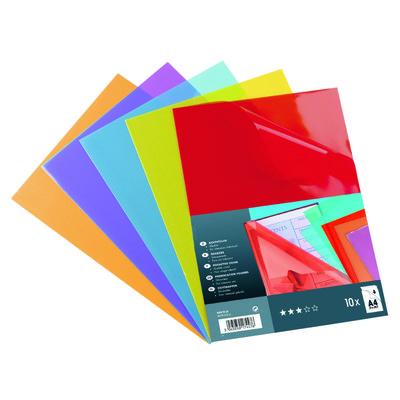 Dossier con uñero A4 polipropileno  A-Series transparente