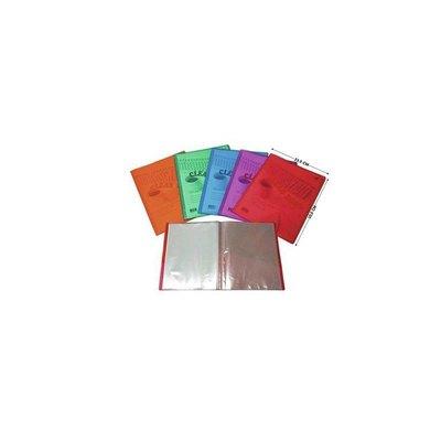 Carpeta con 20 fundas A4 colores Yes!