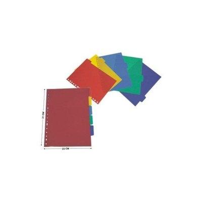 Separadores colores surtidos Yes 510000